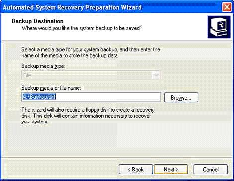 windows xp recovery disk usb
